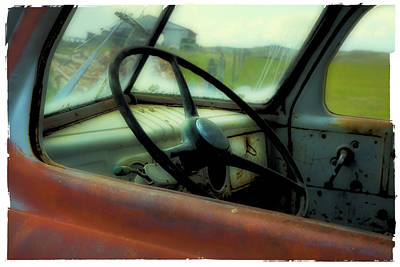 Photograph - Dodge Truck by Theresa Tahara