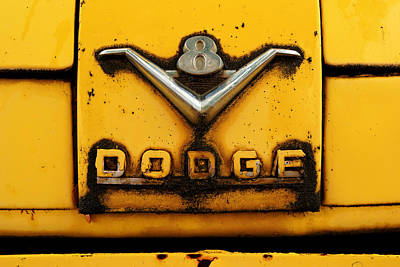 Photograph - Dodge V8 by Daniel Woodrum