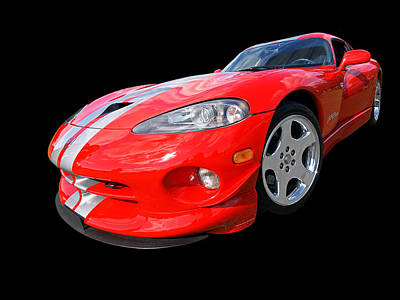 Photograph - Dodge Viper Gts by Gill Billington