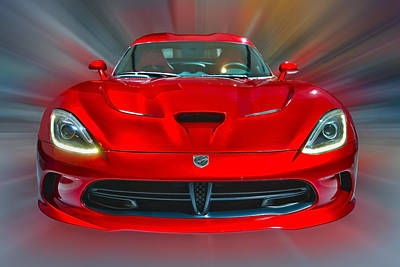 Photograph - Dodge Viper Srt  2013 by Dragan Kudjerski