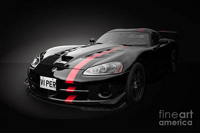 Photograph - Dodge Viper Srt by Matt Malloy