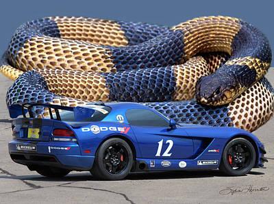 Lamborghini Photograph - Dodge Viper by Sylvia Thornton