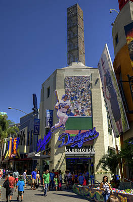 Photograph - Dodgers Clubhouse by Ricky Barnard