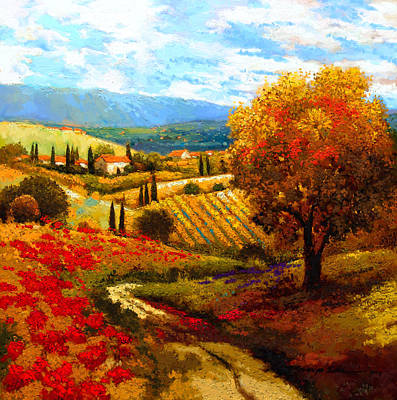 Dodogne Vineyard Art Print by Kanayo Ede