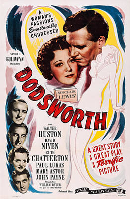 Dodsworth, Us Poster, Top From Left Art Print by Everett