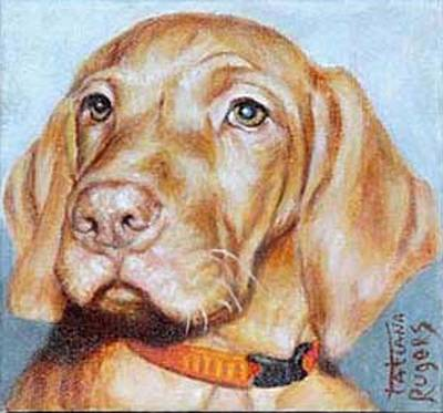 Ruger Painting - Dog 2. Prowd Beauty. by Rugers Tatiana
