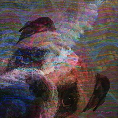 Boxer Puppy Digital Art - Dog Beach by Diane Parnell