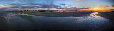 San Diego Artist Digital Art - Dog Beach San Diego  by Kenny Noddin