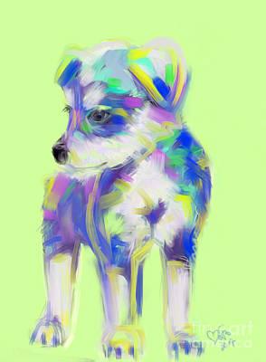 Dog Cute Puppy Art Print