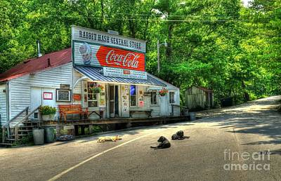 Small Towns Photograph - Dog Day Afternoon by Mel Steinhauer