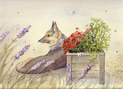 Dog Days Original by Christine Burn
