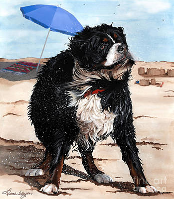 Dog Days Of Summer Art Print by Liane Weyers