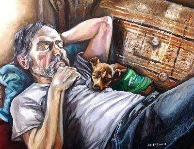 Dog Days Art Print by Shana Rowe Jackson