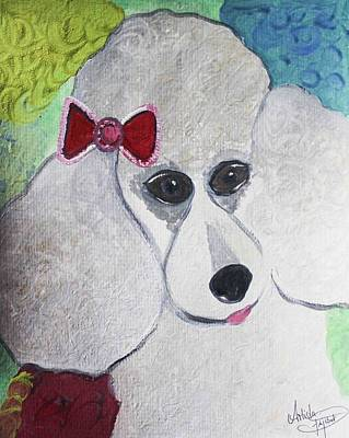 Water Dogs Mixed Media - Dog Lover by Artista Elisabet