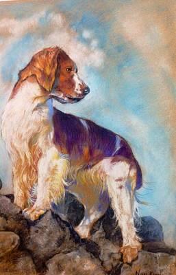 Dog O' The Highlands Art Print