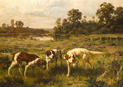 Dogs. Doggy Painting - Dog by Percival Leonard Rosseau