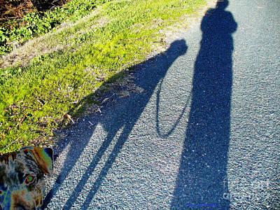 Photograph - Dog Walk 2 by Afroditi Katsikis