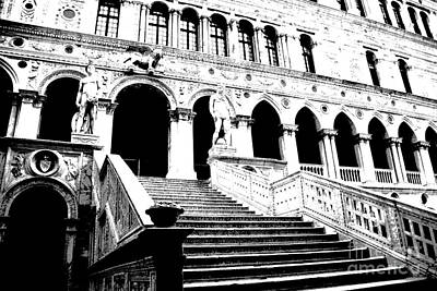 Photograph - Doges Palace by Jacqueline M Lewis