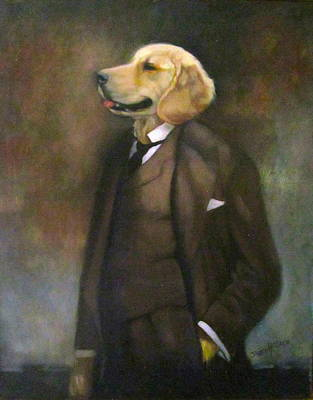 Doggone Executive Art Print
