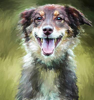 House Pet Digital Art - Doggy Joy by Yury Malkov