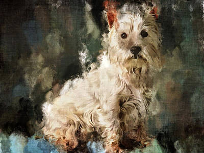 Pets Art Digital Art - Doggy by Yury Malkov