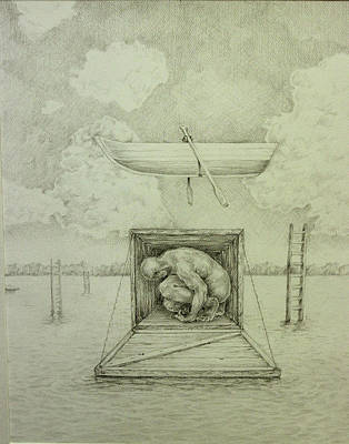 Uplifting Drawing - Dogma by James  Andrews