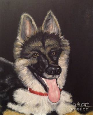Dogs Are Human's Best Friends Art Print by Brindha Naveen