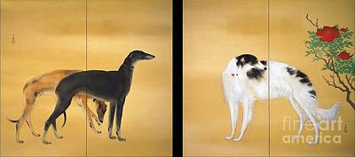Fauna Painting - Dogs From Europe by Pg Reproductions