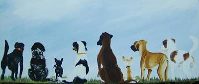 Dogs Looking For Our Forever Home Art Print