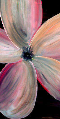 Silver Moonlight Painting - Dogwood Bloom by Mark Moore