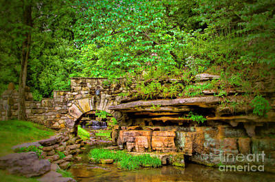 Photograph - Dogwood Canyon Hidden Falls by Elizabeth Winter