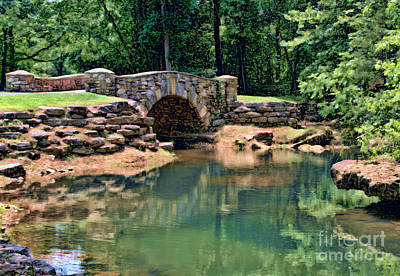 Photograph - Dogwood Canyon Nature Bridge by Elizabeth Winter