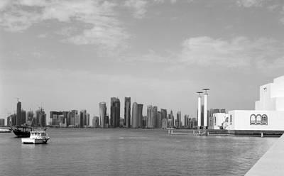 Photograph - Doha Bay Dec 26 2012 by Paul Cowan