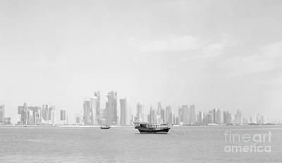 Photograph - Doha Bay February 2013 by Paul Cowan