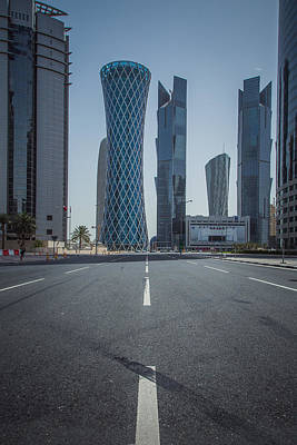 Doha Road Art Print by Charlie Tash