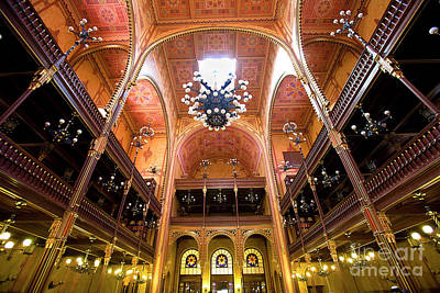 Byzantine Photograph - Dohany Synagogue In Budapest by Madeline Ellis
