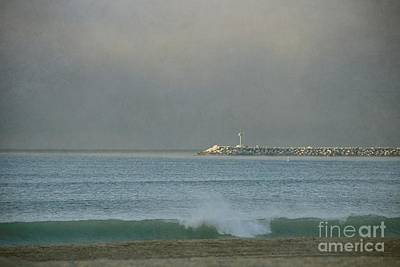 Digital Art - Doheny At Daybreak by Peggy Hughes