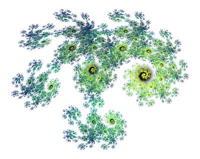 Doily Digital Art - Doily-eyes-121018-1755-wx by Nick Turner