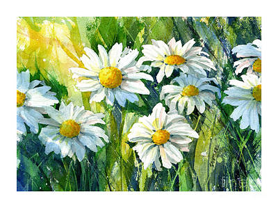 Painting - Doin' Daisys by Dick Dee
