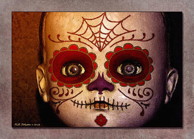 Dia De Los Muertos Photograph - Doll 6 by WB Johnston