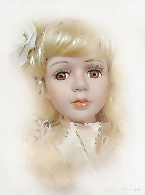 Painting - Doll 623-12-13 Marucii by Marek Lutek