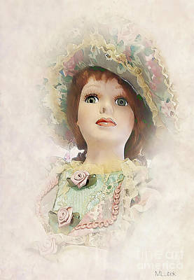 Painting - Doll 624-12-13 Marucii by Marek Lutek