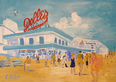 Painting - Dolles Salt Water Taffy by Christina Schott