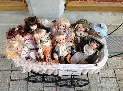 Photograph - Dolls For Sale by John Potts