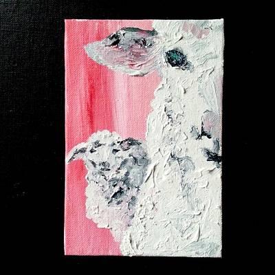 Dolly And Dot Art Print