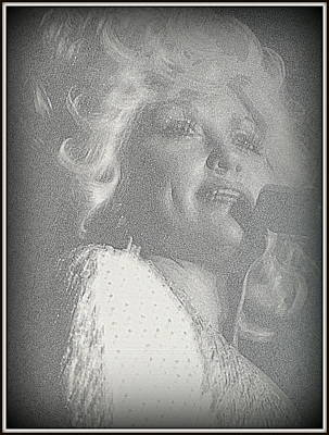 Photograph - Dolly Parton by Kay Novy