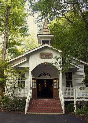 Photograph - Dollywood Chapel by Laurie Perry