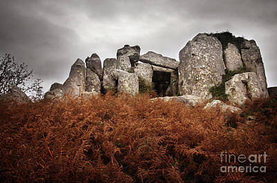 Megalithic Photograph - Dolmen by Carlos Caetano