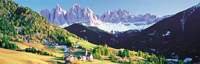 Dolomite Italy Art Print by Panoramic Images