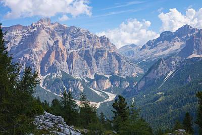 Dolomite Mountain View Art Print